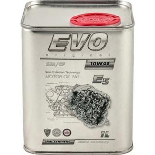 Моторное масло EVO E5 10W-40