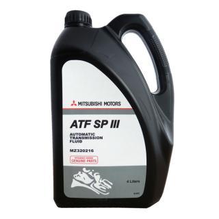 Трансмиссионное масло Mitsubishi ATF SP-III (MZ320215, MZ320216)